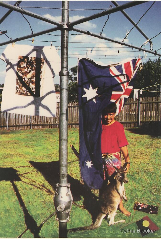 Australia - Kangaroo and Hills Hoyst by Cathie Brooker