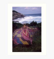 Flying Goddess 1992 Art Print