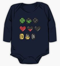 Video Game Stats One Piece - Long Sleeve