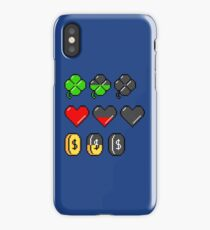 Video Game Stats iPhone Case