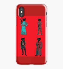 cat solo and gang iPhone Case/Skin