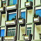City balconies by Silvia Ganora