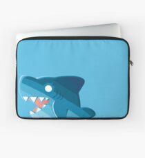 Glücklicher Blauhai Laptoptasche