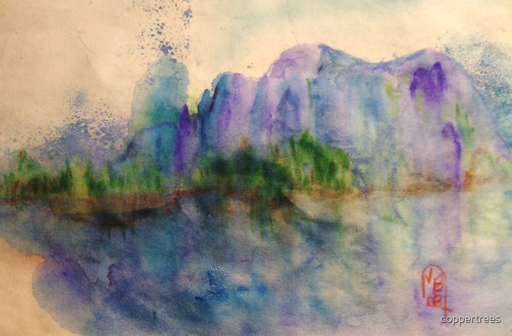 Purple Mountains by coppertrees