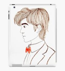 Eleventh Doctor drawing. iPad Case/Skin