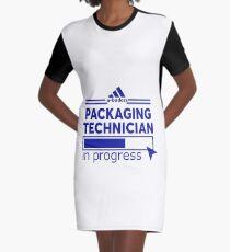PACKAGING TECHNICIAN Graphic T-Shirt Dress