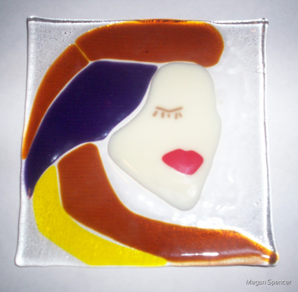 Glass Plate by Megan Spencer