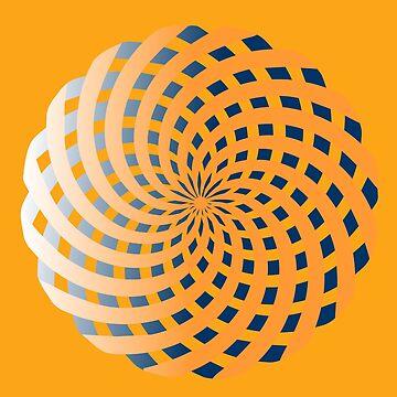 Golden Spirals by sbaldesco