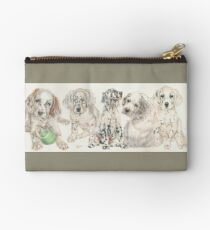 English Setter Puppies Studio Pouch