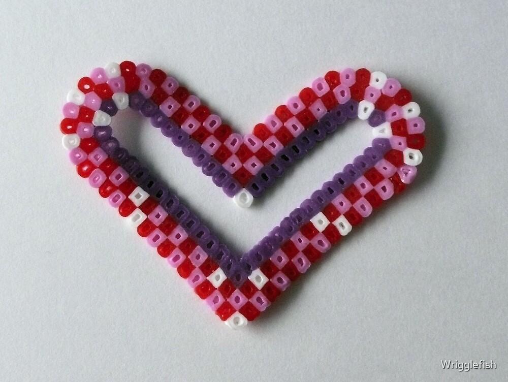 handmade heart by Wrigglefish