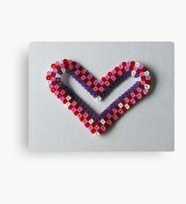 handmade heart Canvas Print