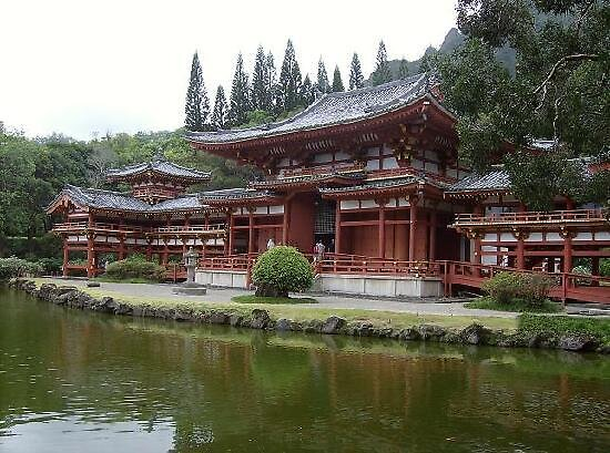 Japanese Temple, Hawaii by chord0