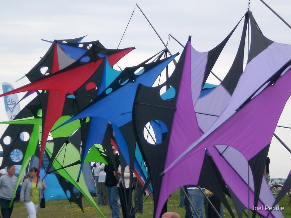 Kite Chaos by Joel Peddie