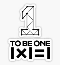 WANNA ONE - TO BE ONE Sticker