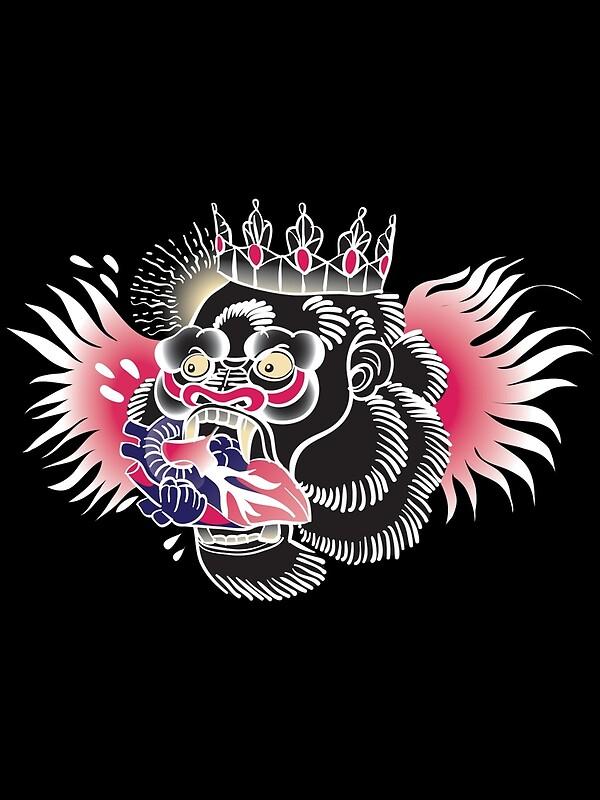 Quot Conor Mcgregor Gorilla Tattoo Quot Metal Prints By
