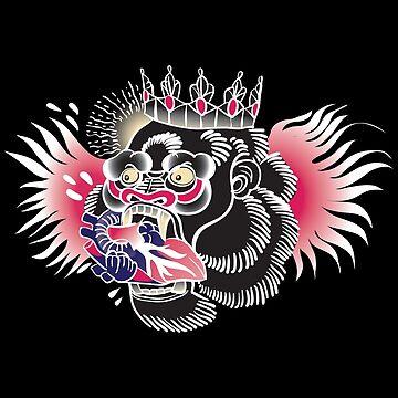 Conor McGregor Gorilla Tattoo by gettinitnow