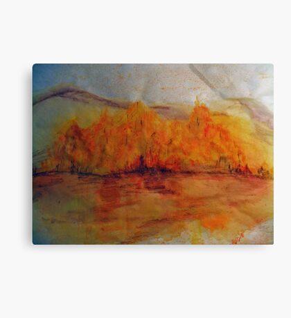Fall  Orange  Canvas Print