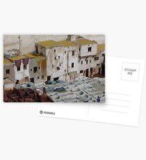 Tannerie à Fez Postcards