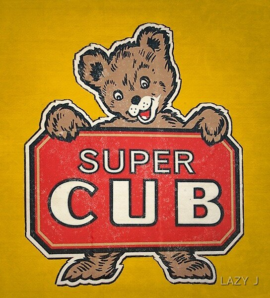 Super Cub by John Medbury (LAZY J)