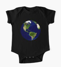North America, From Space, Planet Earth, Globe Kids Clothes