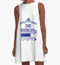 CHIEF OPERATING OFFICER A-Line Dress