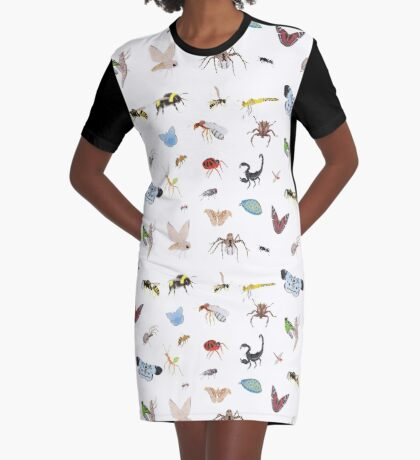 Bugs Graphic T-Shirt Dress