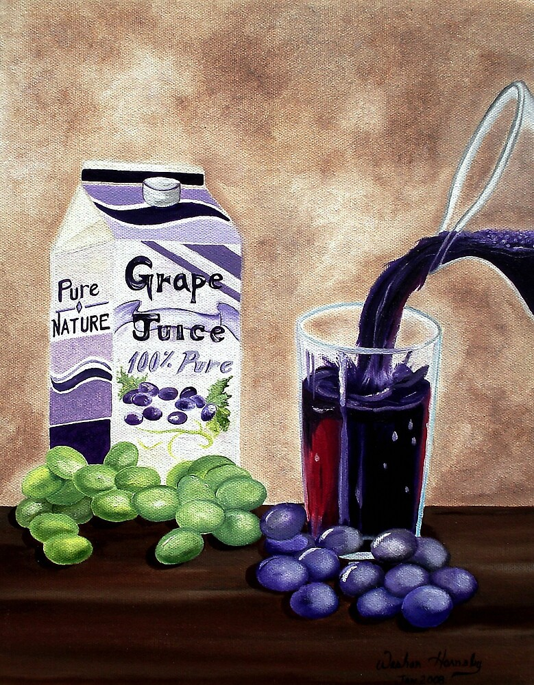Purely Grape Juice by Weshon  Hornsby