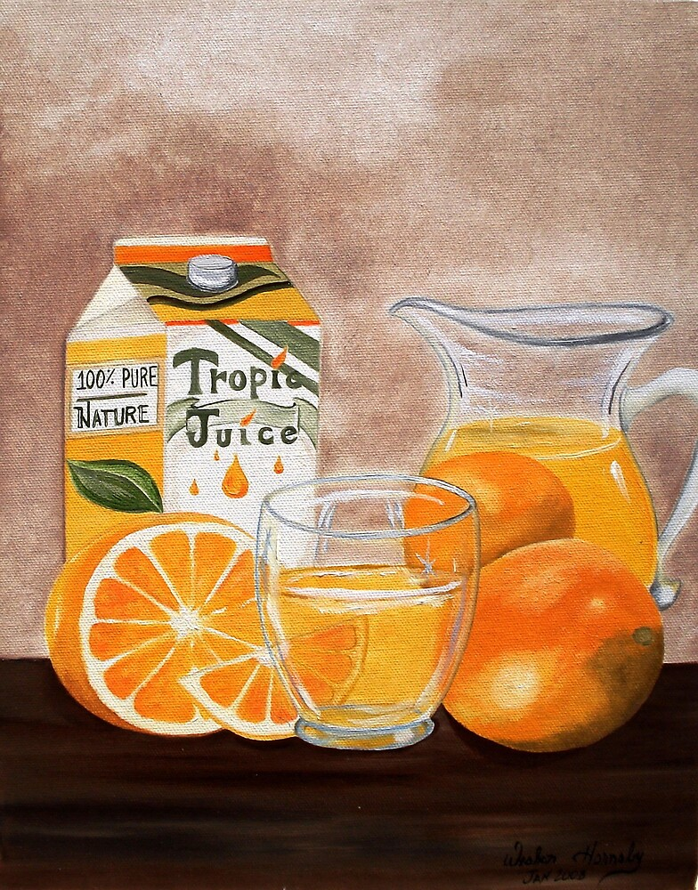 Fresh Squeezed Orange Juice  by Weshon  Hornsby