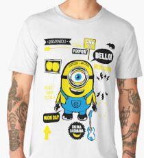 Minion Famous Quotes Men's Premium T-Shirt