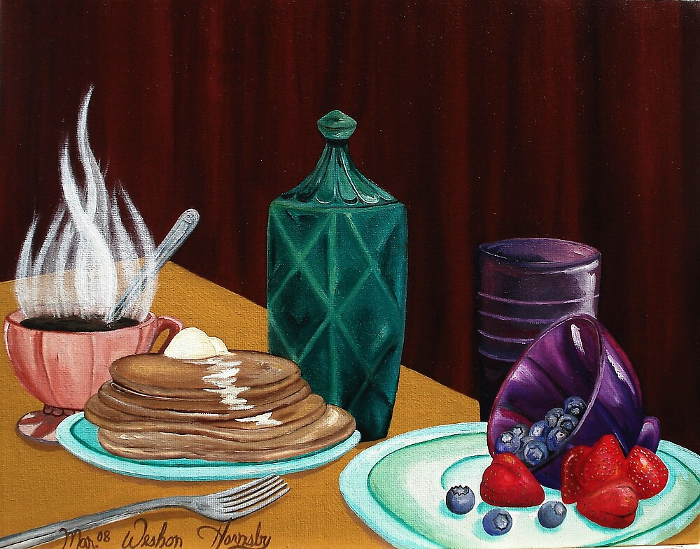 Breakfast Time by Weshon  Hornsby