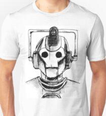 Cyberman Watercolour T-Shirt