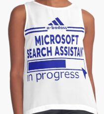 MICROSOFT SEARCH ASSISTANT Sleeveless Top
