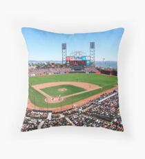 AT&T Park - San Francisco Throw Pillow