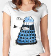Blue Darlek Women's Fitted Scoop T-Shirt