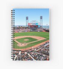 AT&T Park - San Francisco Spiral Notebook