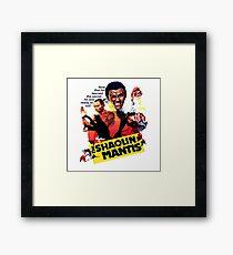 Shaolin Mantis Framed Print