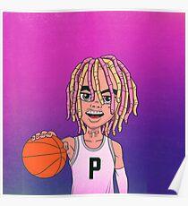 Lil Pump Ball Poster