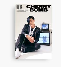 NCT 127 CHERRY BOMB JOHNNY Canvas Print