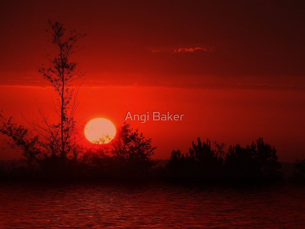 An Evening Without You, Is like a day without sunshine... by Angi Baker