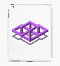 Iso White   iPad Case/Skin