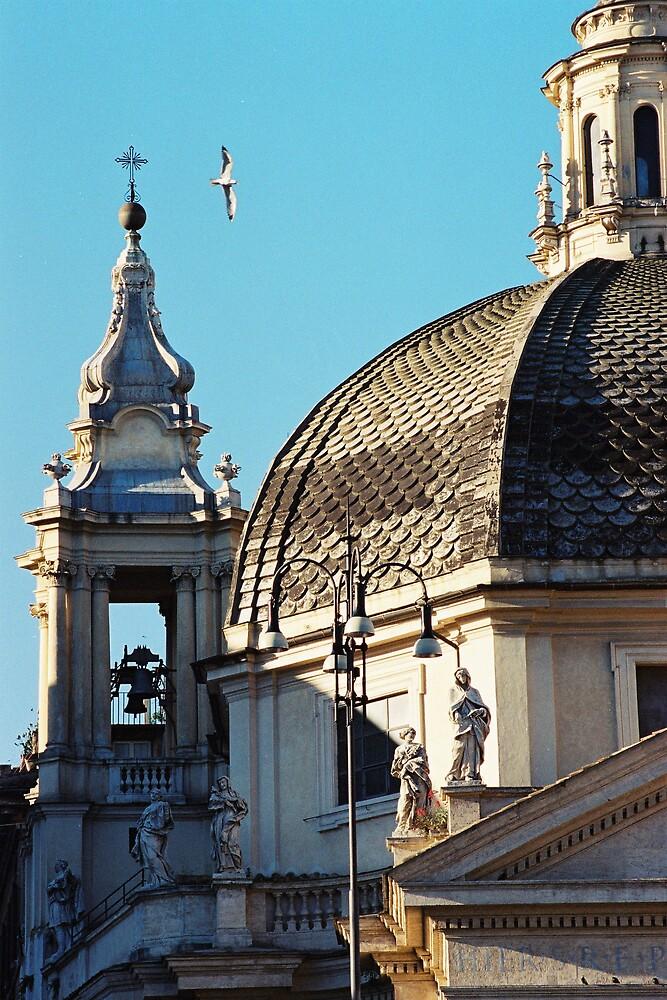 Piazza del Popolo - Rome by Kate Powick