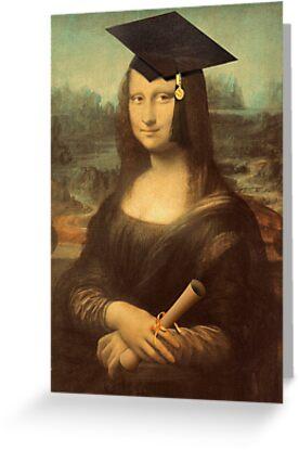 Mona Lisa Graduate by Gravityx9