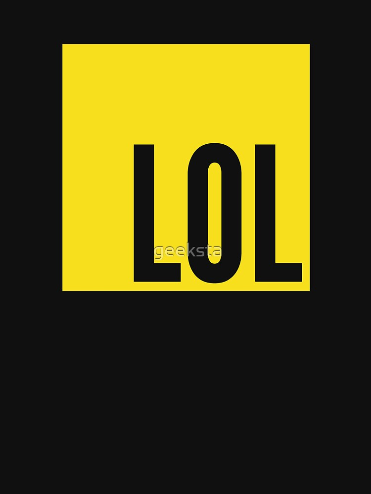 LOL JS - Yellow Design to Tease JavaScript Programmers by geeksta