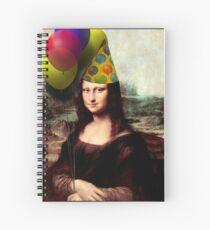 Mona Lisa Birthday  Spiral Notebook