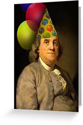 Birthday Ben Franklin by Gravityx9