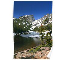 Hallets Peak & Dream Lake Poster