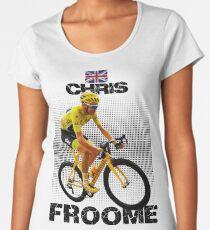 Chris Froome Tee Shirts Women's Premium T-Shirt