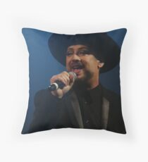 Boy George Throw Pillow