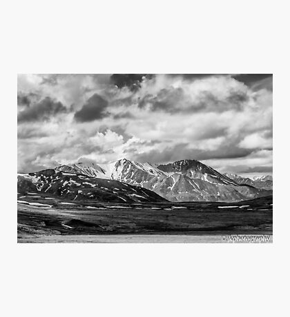 Alaska in B&W  Photographic Print
