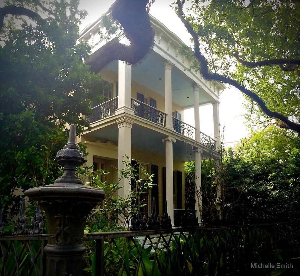 Garden District Mansion by Michelle Smith